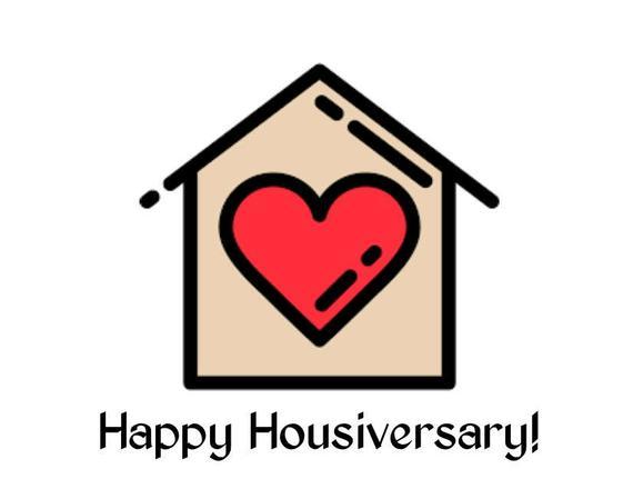 Happy Housiversary Wishing Image