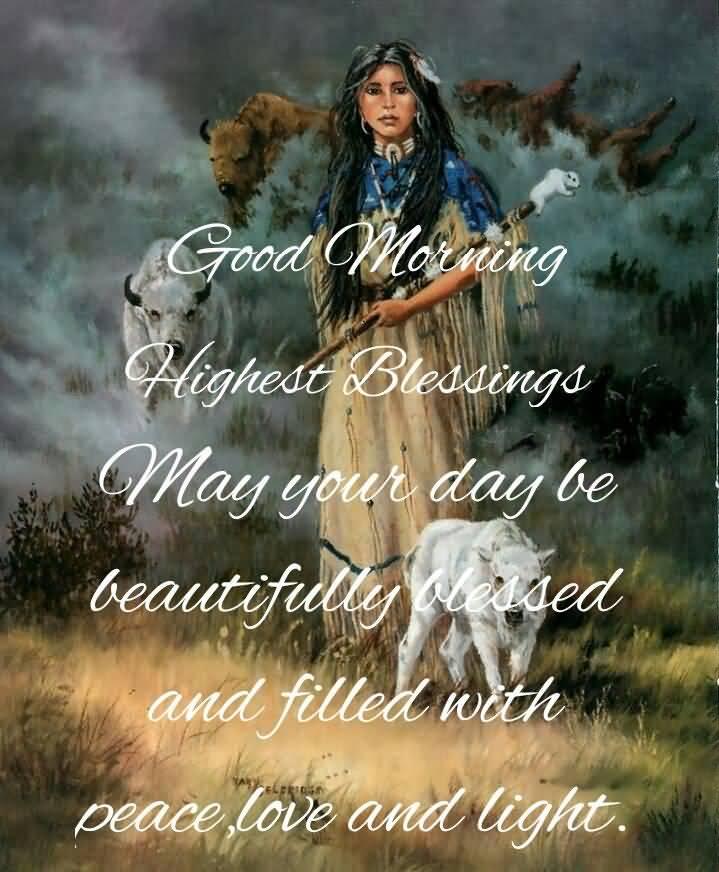 Good Morning Highest Blessings
