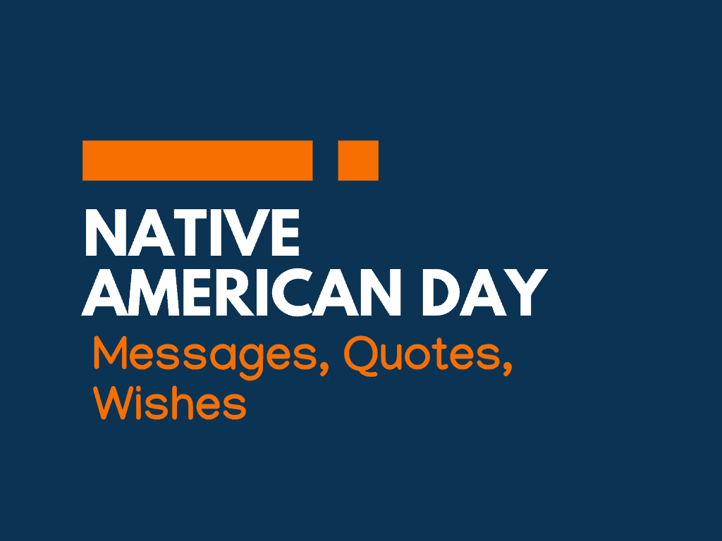 Native American Day Messages