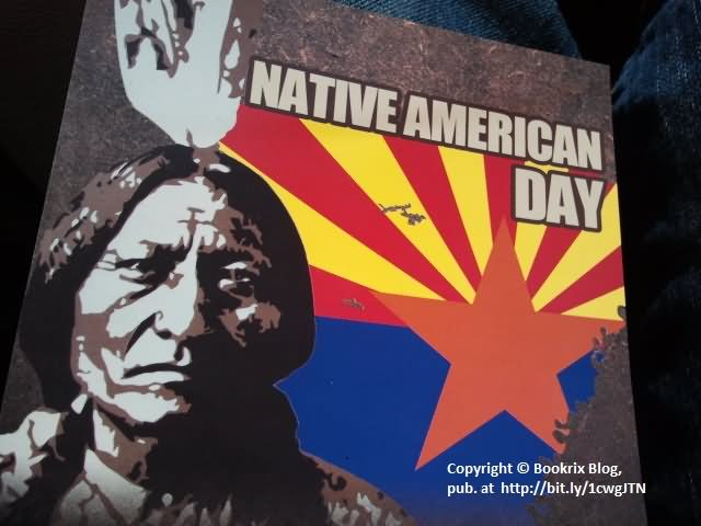 Native American Day Poster