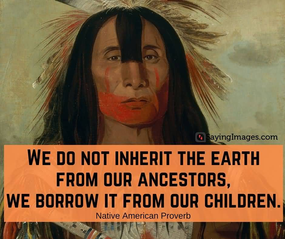 We Do Not Inherit The